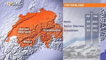 RTL Nieuws Sneeuwhoogten in skigebieden