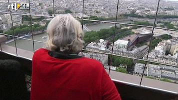 RTL Nieuws Kunstwerk alleen vanaf Eiffeltoren te zien
