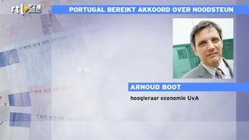 RTL Z Nieuws Arnoud Boot: echte probleem Portugal is schuldenlast, deze regeling is politiek