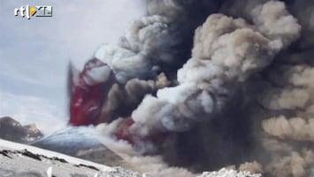 RTL Nieuws Vulkaan Etna uitgebarsten