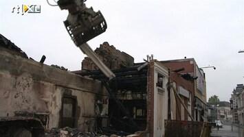 RTL Nieuws Winschoten sloopt panden om brandstichtingen te voorkomen