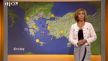 RTL Nieuws Vakantieweer: onweer in Frankrijk