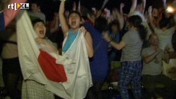 RTL Nieuws Japan uitzinnig na wereldtitel