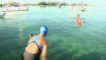 RTL Nieuws Vijf keer scheepsrecht: vrouw zwemt van Cuba naar Florida