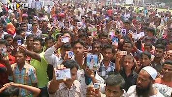 RTL Nieuws Overlevenden onder puin kledingfabriek Bangladesh