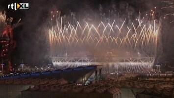 RTL Nieuws Groot vuurwerk sluit Olympische Spelen Londen af