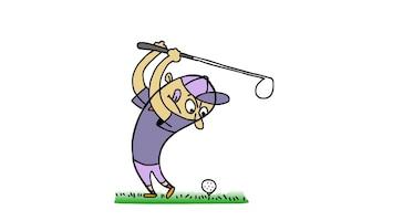Doodle - Golfer