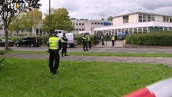 RTL Nieuws School Zoetermeer ontruimd om vuurwapen