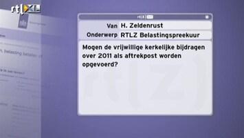 RTL Nieuws Belastingspreekuur: Aftrekposten