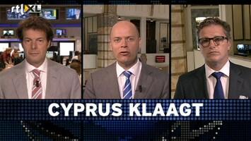 RTL Z Voorbeurs Cyprus klaagt: gefröbel aan de zijlijn