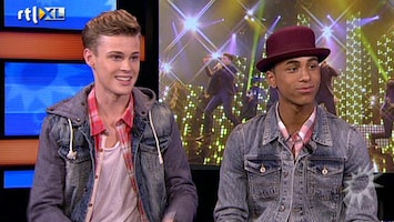 RTL Boulevard Jongens van B-Brave in de studio