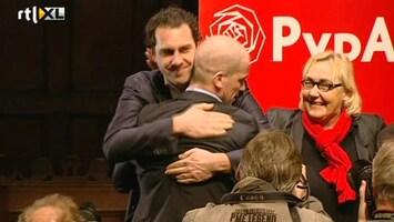 RTL Nieuws Leden PvdA kiezen Samsom als leider
