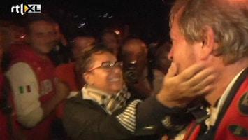 RTL Nieuws Bergers Costa concordia als helden onthaald