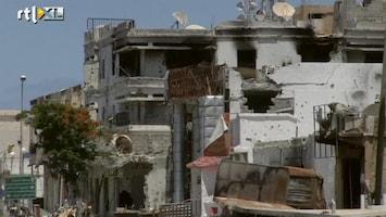 RTL Nieuws Libische stad Misurata kapotgeschoten