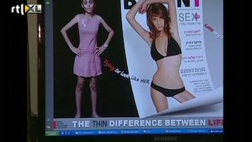 RTL Nieuws Verbod graatmagere modellen Israël