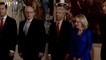 Editie NL Beëdiging van het kabinet