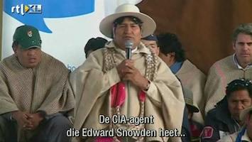RTL Nieuws 'Snowden is welkom als daad van protest'