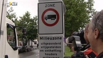 RTL Nieuws Vieze oude auto's moeten Utrecht uit