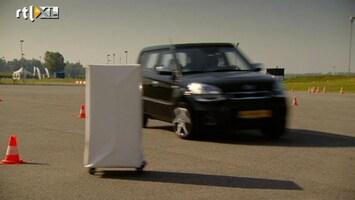 RTL Autowereld Autorijden doe je zo: Bewegend obstakel