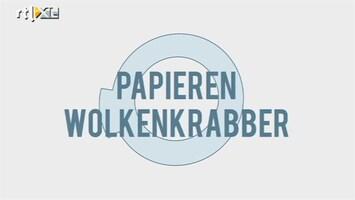 Minute To Win It - Papieren Wolkenkrabber