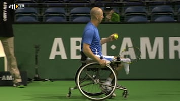 Finale Abn Amro World Wheelchair Tennis Tournament - Uitzending van 27-02-2011