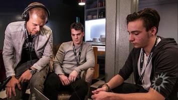 Armin van Buuren aan de slag met dj's in de dop