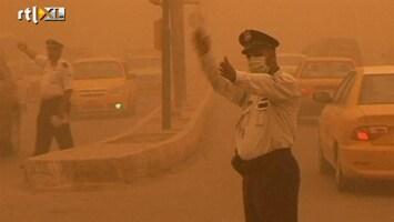 RTL Nieuws Heftige zandstorm in Irak