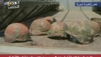 RTL Nieuws Explosie treft VN-konvooi Syrië