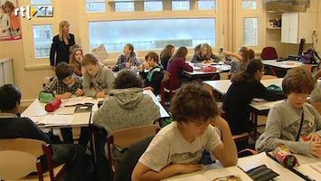 RTL Nieuws 'Er moet harder gewerkt worden op school'