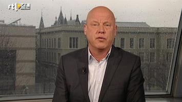 RTL Nieuws Frits Wester: kabinet in lastig pakket