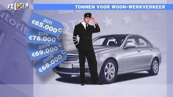 RTL Nieuws Tonnen voor woon- werkverkeer AFM-bestuurder