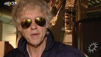 RTL Boulevard Bob Geldof klaargestoomd voor ruimtereis