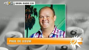 RTL Boulevard Paul de Leeuw woest op collega's