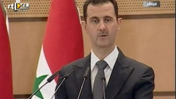RTL Nieuws Assad: Syrië slachtoffer buitenlands complot