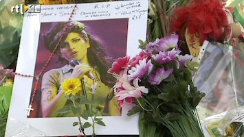 RTL Nieuws Afscheid van Amy Winehouse
