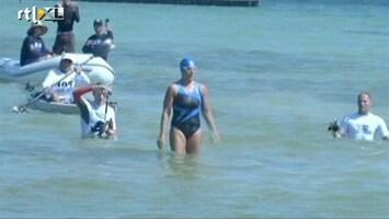 RTL Nieuws Zwemtocht Florida-Cuba afgebroken