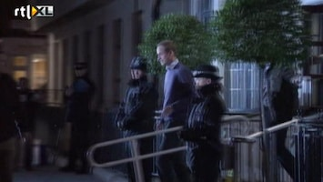 RTL Boulevard William verlaat ziekenhuis na bezoek Kate