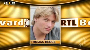 RTL Boulevard Thomas Berge wordt vader!