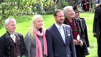 RTL Boulevard Haakon en Mette-Marit op tour