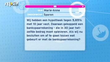RTL Nieuws Over Geld Gesproken: Kijkersvragen over sparen