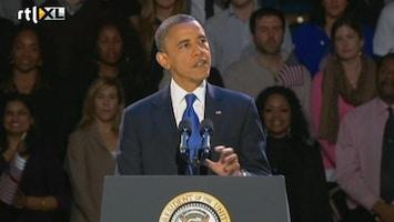 RTL Nieuws Obama: 'Ik heb ook de Romneys gefeliciteerd'