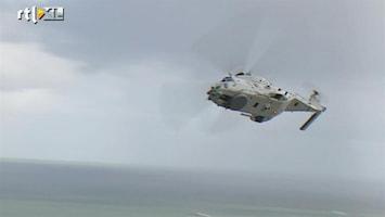 RTL Nieuws Officieel afscheid van de Lynx-helikopter