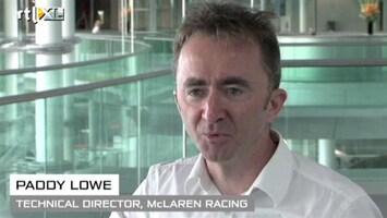 RTL GP: Formule 1 Paddy Lowe (McLaren) blikt vooruit op de Grand Prix van Singapore
