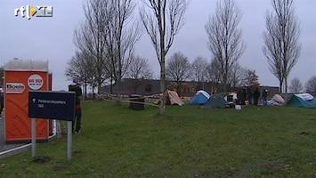 RTL Nieuws In tentenkamp om verblijfsvergunning