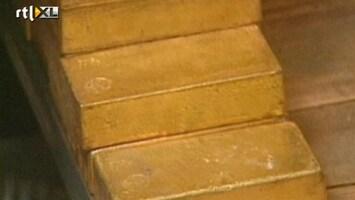RTL Nieuws Beleggers vluchten in goud