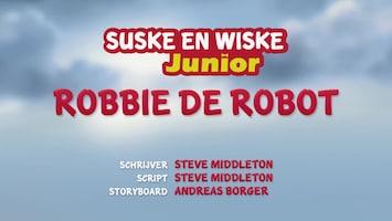 Suske En Wiske Junior Robbie de robot