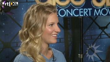 RTL Boulevard Glee-gek Jamai interviewt castleden