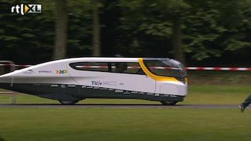 RTL Nieuws Stella - gezinswagen op zonne-energie