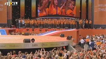 RTL Nieuws Olympische helden vieren feest in Den Bosch