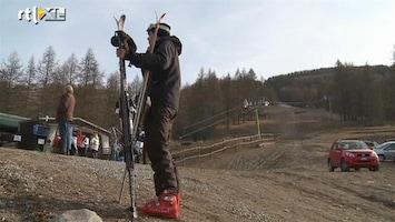 RTL Nieuws Geen sneeuw in de Alpen